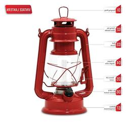 Northpoint 12-LED Lantern Vintage Style, Red