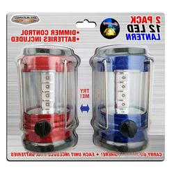 12 LED Battery Operated Camping Lantern