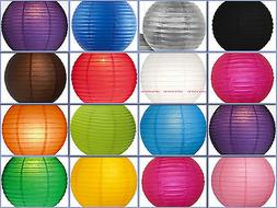 """12X round Chinese paper lanterns lamp 12"""" Wedding Party Flor"""