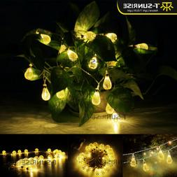 30LED Battery Power Fairy String Light Lantern Outdoor Party
