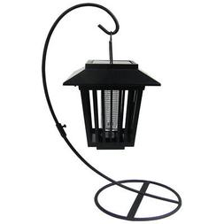 4 Outdoor LED Solar Insect Bug Zapper Lights Lantern Mosquit