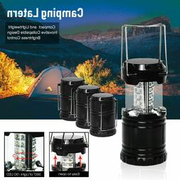 4pack 30 LED Collapsible Camping Lantern Light Tent Lamp Fis