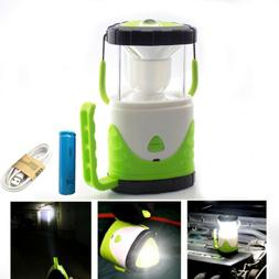 Camping Lantern USB Rechargeable 18650 LED Camp Lamp Light E