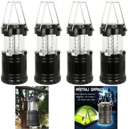 LED Camping 4 Pk Pack Portable Outdoor LED Camping Lantern L