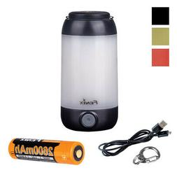 FENIX CL26R 400 Lumen White & Red LED Rechargeable Camping L