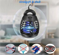Electric Fly Bug Mosquito Insect Killer LED Light Camping Ni