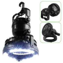Foldable LED Camping Lantern with Ceiling Fan for Hiking Fis