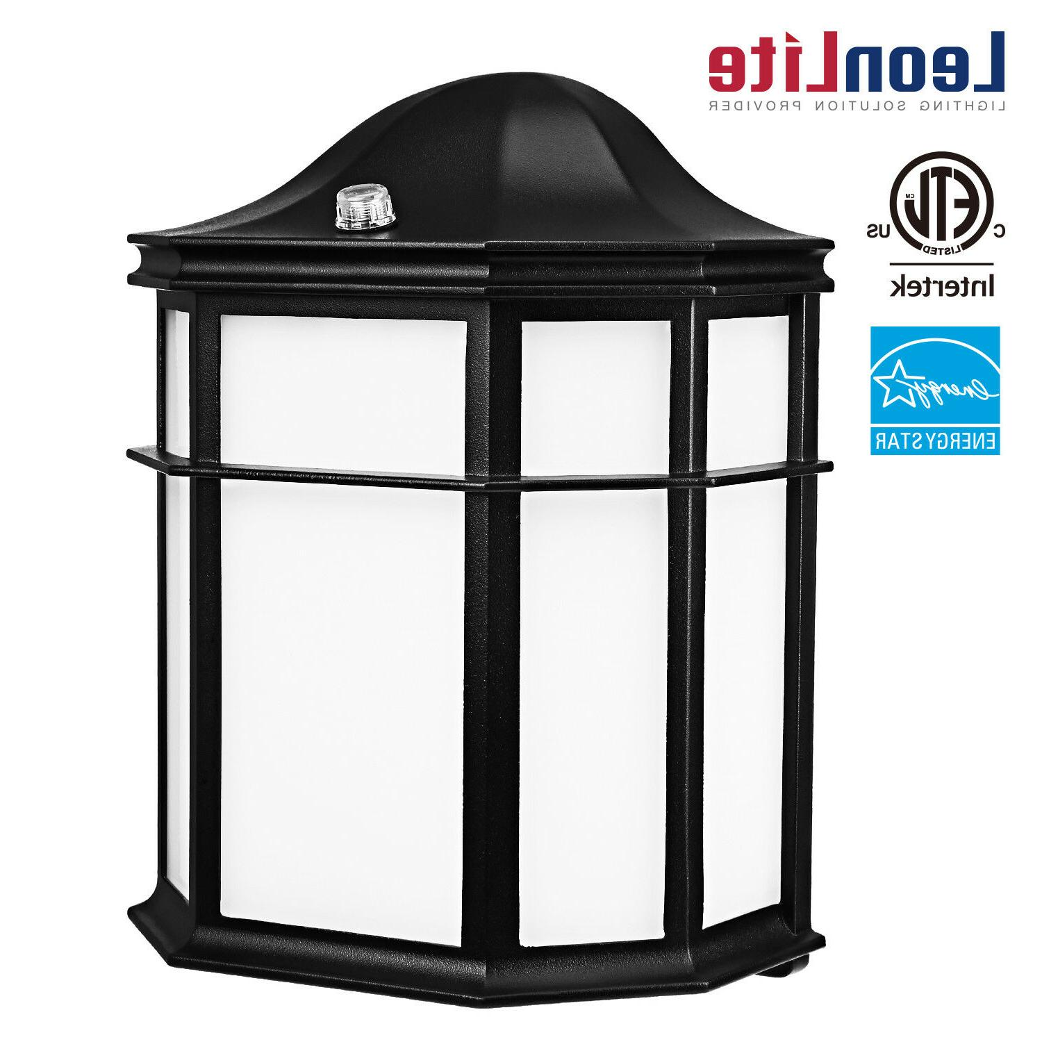 14w dusk to dawn led outdoor wall