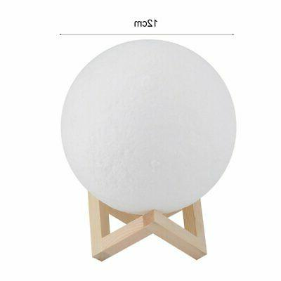 5'' Moon Lamp USB Touch LED
