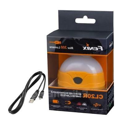 cl20r 300 lumen usb rechargeable led camping