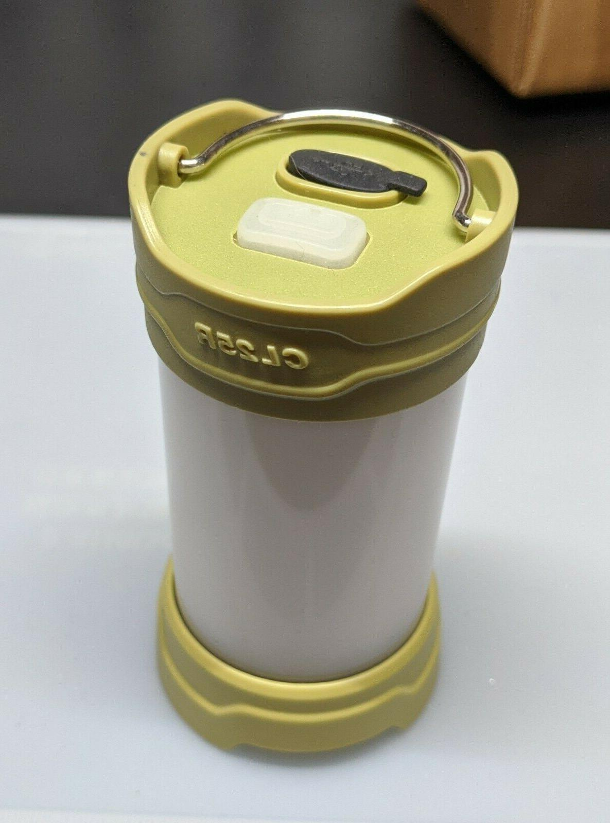 cl25r white and red led camping lantern