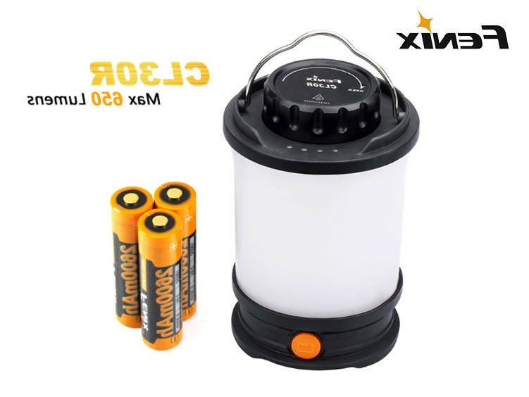 cl30r 650 lumens rechargeable camping led lantern