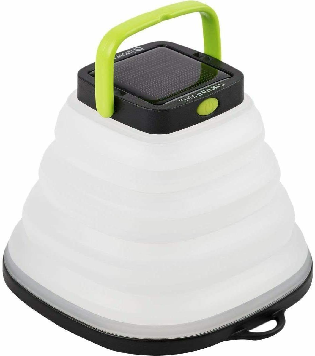 crush light solar powered lantern