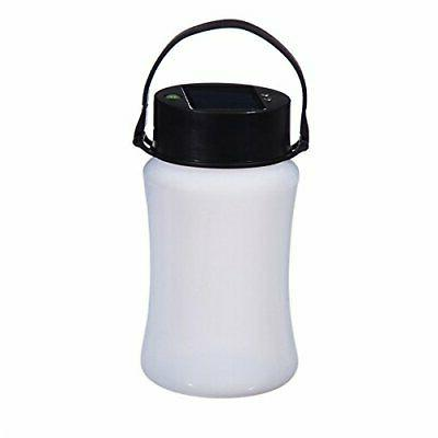 firefly frosted white silicone solar lantern