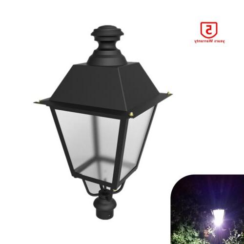 led post top light 60 120w courtyard