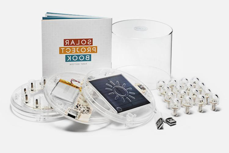 luci build your own solar light kit