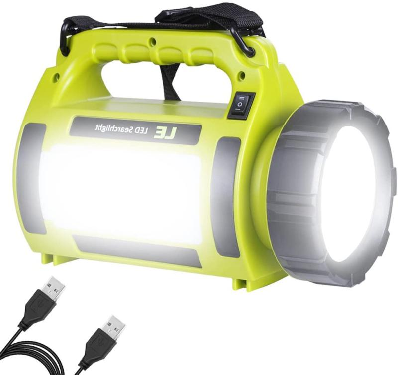 rechargeab d camping lantern 1000lm 5 light