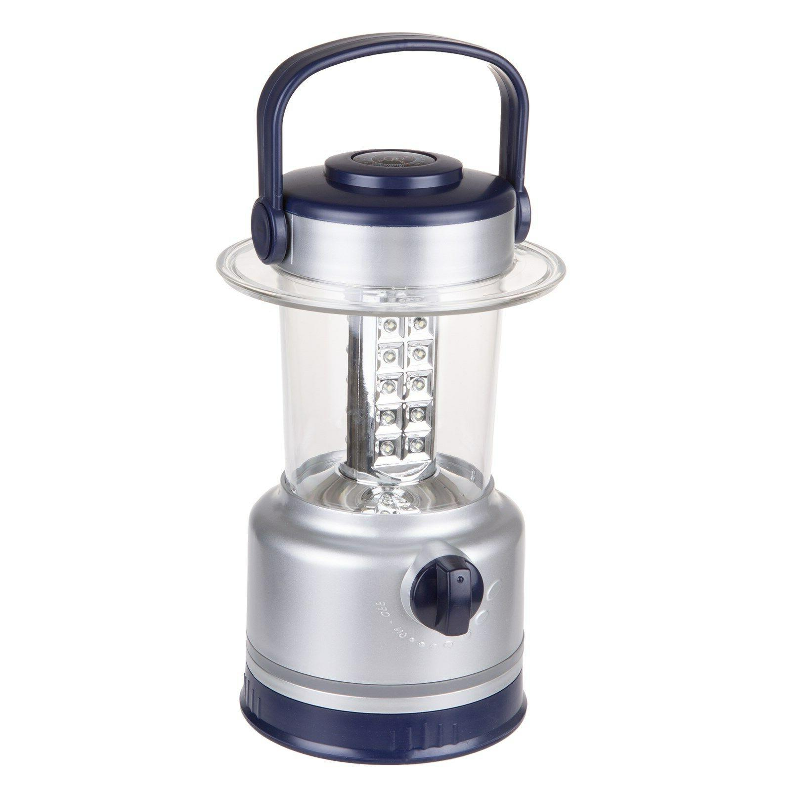 Silver 30 LED Lights Operated Camping Fishing