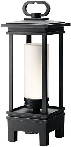 Kichler South Hope Portable LED Indoor/Outdoor Lantern, Rubb