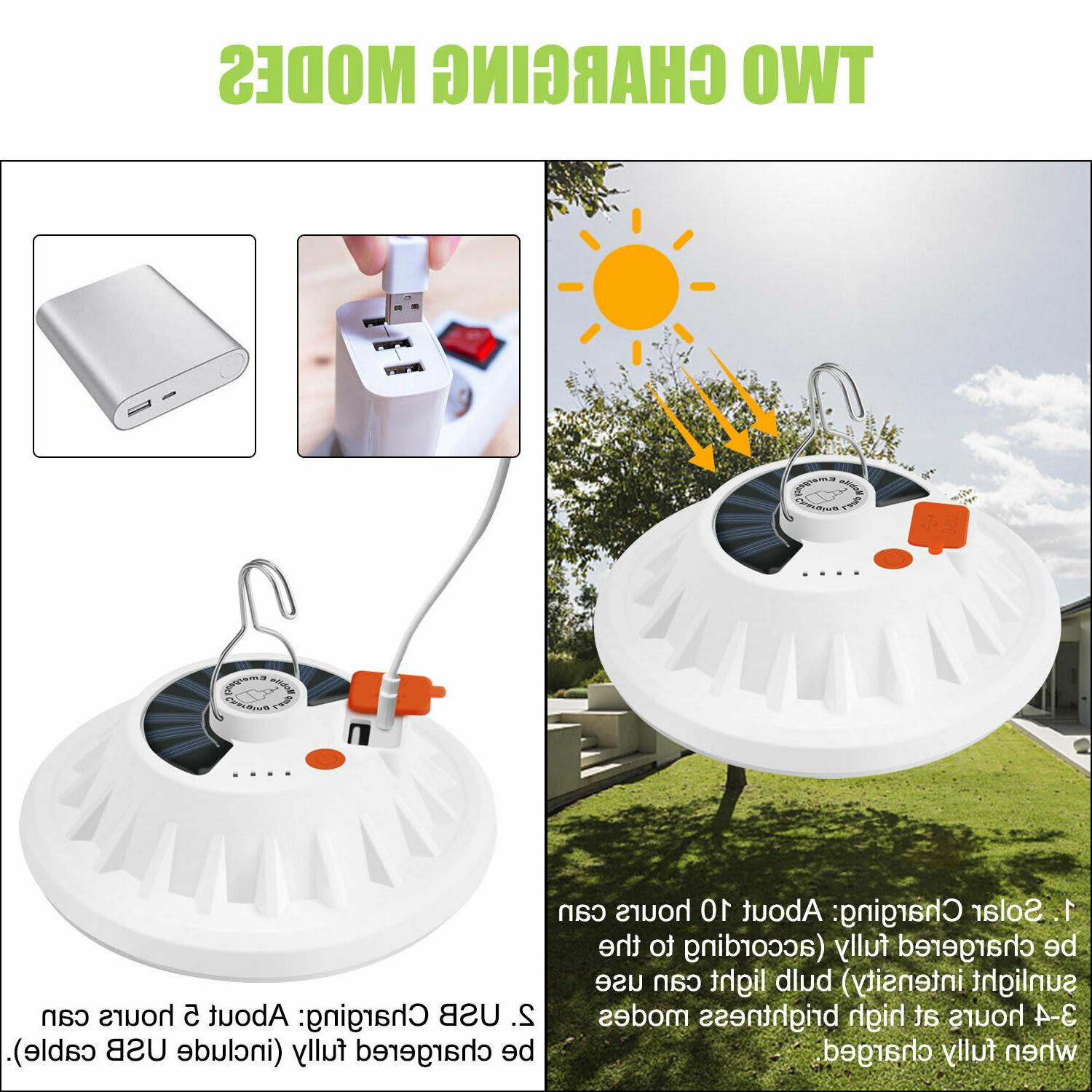 USB Camping Light Hiking Bright