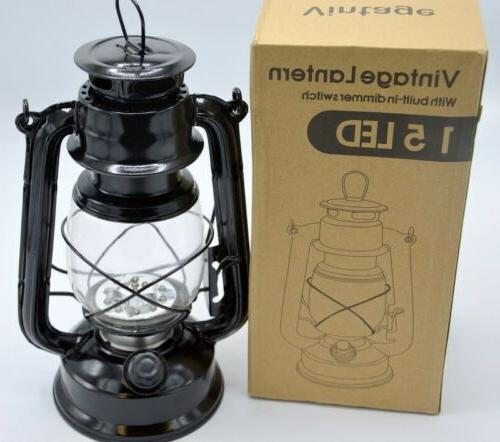 vintage led lantern with build in dimmer