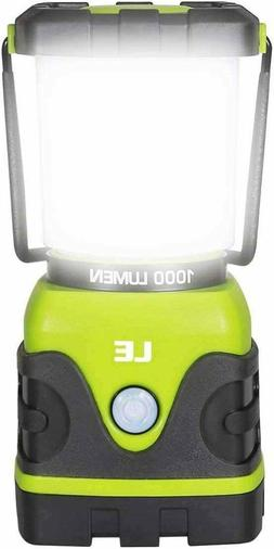 LE LED Camping Lantern, Battery Powered LED with 1000LM,4 Li