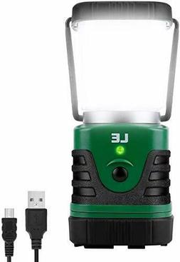 LE LED Camping Lantern Rechargeable, 1000LM, 4 Light Modes,