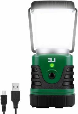 LE LED Camping Lantern Rechargeable 1000LM 4 Light Modes 440