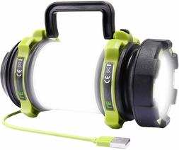 LE LED Camping Lantern Rechargeable, Brightest Flashlight wi