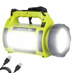 LE Rechargeable LED Camping Lantern, 3600mAh Power Bank, 100