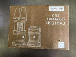 ETEKCITY LED COLLAPSIBLE LANTERN MODEL CL10 PACK of 2 NEW in