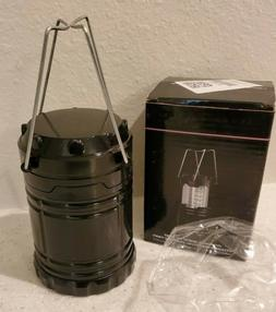 LED Lantern, Collapsible, Battery Powered Camping Light for