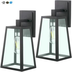 Led Outdoor Wall Lantern, Wall Sconce As Porch Light, , 110