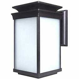 LIT-PaTH Outdoor LED Wall Lantern, Sconce As Porch Lighting