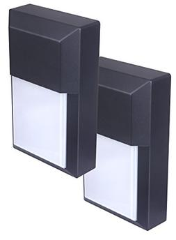 LIT-PaTH Outdoor LED Wall Lantern, Wall Pack Wall Sconce as