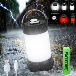 Magnet Portable White and Red LED Camping Lantern Flashlight