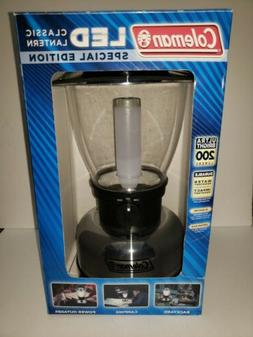New Coleman LED Classic Lantern Special Edition 200 Lumens 8