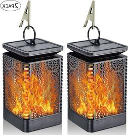 Outdoor Eye-Catching Dancing Flame LED Light Solar-Powered L