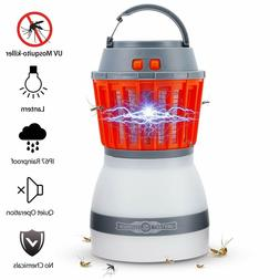 Outdoor Mosquito Killer Lamp Camping Light  Solar LED Electr