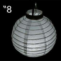 PAPER LANTERNS with LED Lights PARTY WEDDING Dinner Receptio