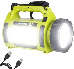 LE Rechargeable LED Camping Lantern, 1000LM, 5 Light Modes