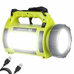 LE Rechargeable LED Camping Lantern 1000LM 5 Light Modes 360