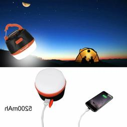 Rechargeable Led Camping Lantern Power Bank with 5200mAh Out