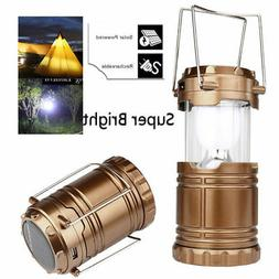 Solar USB Charging Rechargeable Camping Tent Lantern Light 6