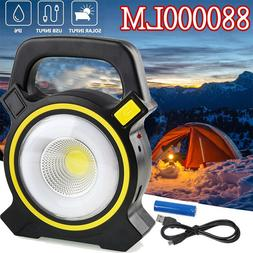 Solar USB Charging Rechargeable Camping Tent Lantern Light L