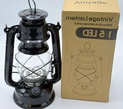 Northpoint Vintage LED Lantern with build in dimmer switch -