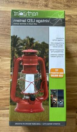NorthPoint Vintage Style  Lantern 12 LEDs -With Dimmer Switc