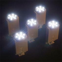 WHITE LED Paper Lantern Lights with Remote Control PARTY WED