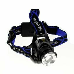 Zoomable 5,000 LUX LED Headlight As Seen On TV Mining Huntin